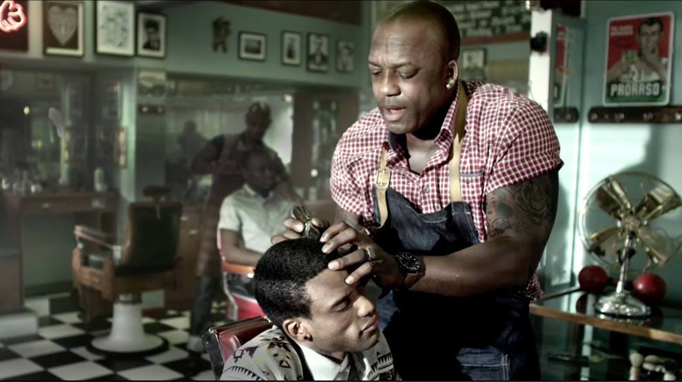 Amstel Lite - The Barber